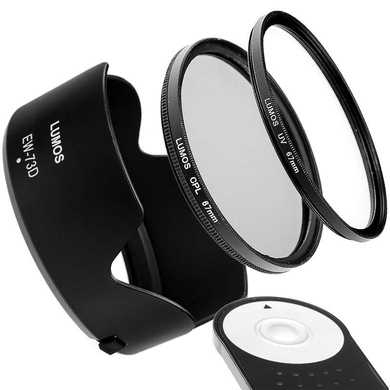 LUMOS 67mm MC UV Schutz-Filter passt zu Canon EF-S 18-135 mm an EOS 77D 80D 750D