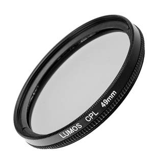 LUMOS 49mm ND16 + Polfilter + UV Filter Kamera Objektiv Zubehör Set