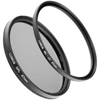 LUMOS DUO PRO Filter Set 67mm mit MC UV Filter und Polfilter incl. Boxen
