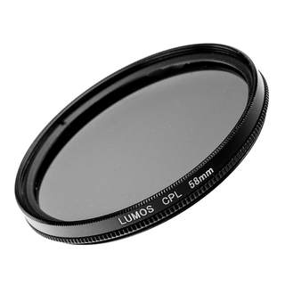 LUMOS DUO PRO Filter Set 58mm mit MC UV Filter und Polfilter incl. Boxen / passend zu Nikon Objektiven
