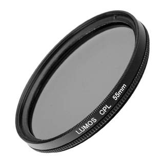 LUMOS DUO PRO Filter Set / MC UV Filter und Polfilter zirkular 55mm