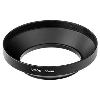 LUMOS MUST HAVE 58mm Metall Gegenlichtblende Polfilter UV Filter Set