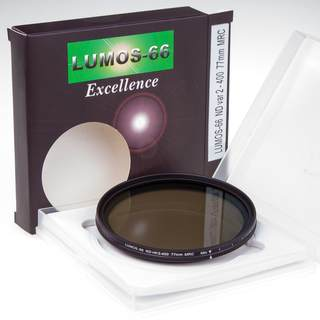 ND Fader Filter variabel 2 - 400 77mm 16-fach vergütet SCHOTT-Glas ultra slim