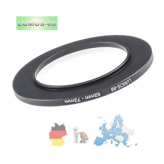 LUMOS Filteradapter 52-72 | step up Ring 52mm auf 72mm