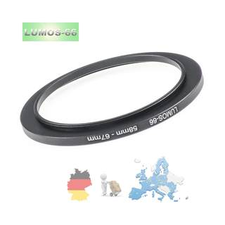 LUMOS Filteradapter 58-67 | step up Ring 58mm auf 67mm