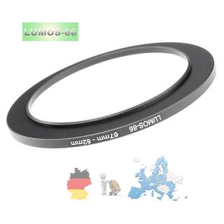 LUMOS step up Filteradapter Ring Adapterring Objektiv 67-82 mm