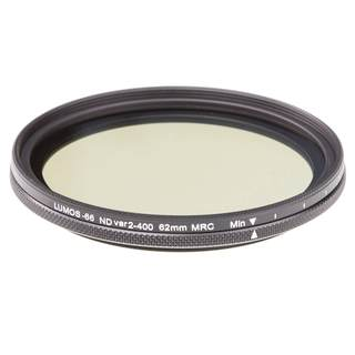 ND Fader Filter variabel 2 - 400 62mm 16-fach vergütet SCHOTT-Glas ultra slim