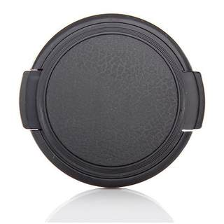 Seitengriff Universal Objektivdeckel 55mm snap on lens cap