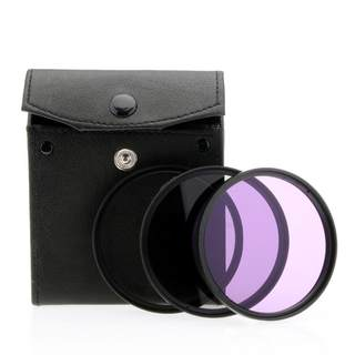 Filterset für Objektive 77mm / UV Filter & Polfilter & FLD Filter & Etui