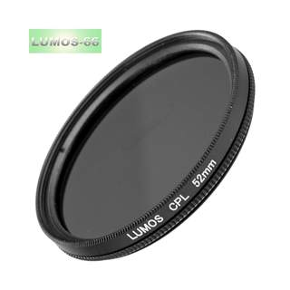 LUMOS FILTERSET STARTER 52mm - Polfilter UV-Filter Objektivdeckel