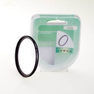 LUMOS Filterset 55mm / UV Filter & Polfilter incl. Boxen