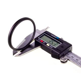 Gegenlichtblende EW-60C II UV Filter 58mm passt zu Canon EF-S 18-55 an EOS 1200D