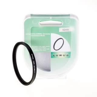 LUMOS Filterset 52mm / UV Filter & Polfilter incl. Boxen